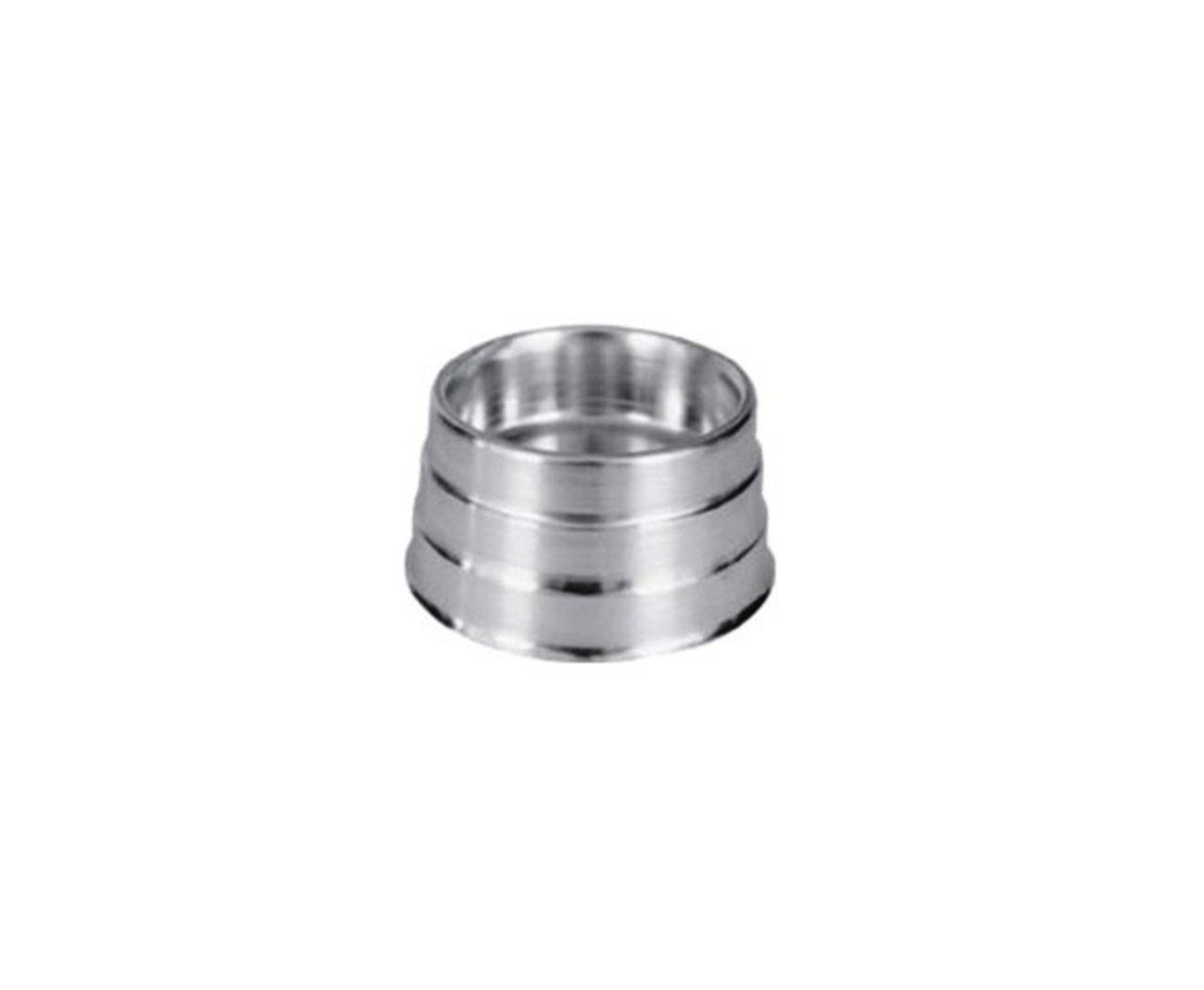 Comedouro Zatti Em Alumínio Para Cão - Pesado Mini 300 Ml
