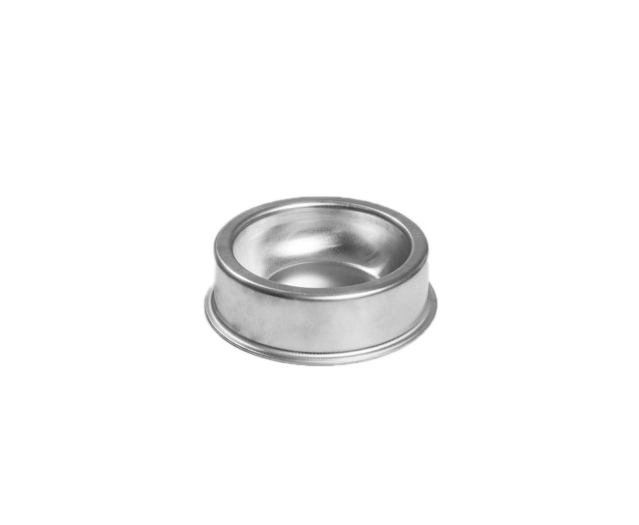 Comedouro Zatti Em Alumínio Para Cão - Modelo Pesado P 900 Ml