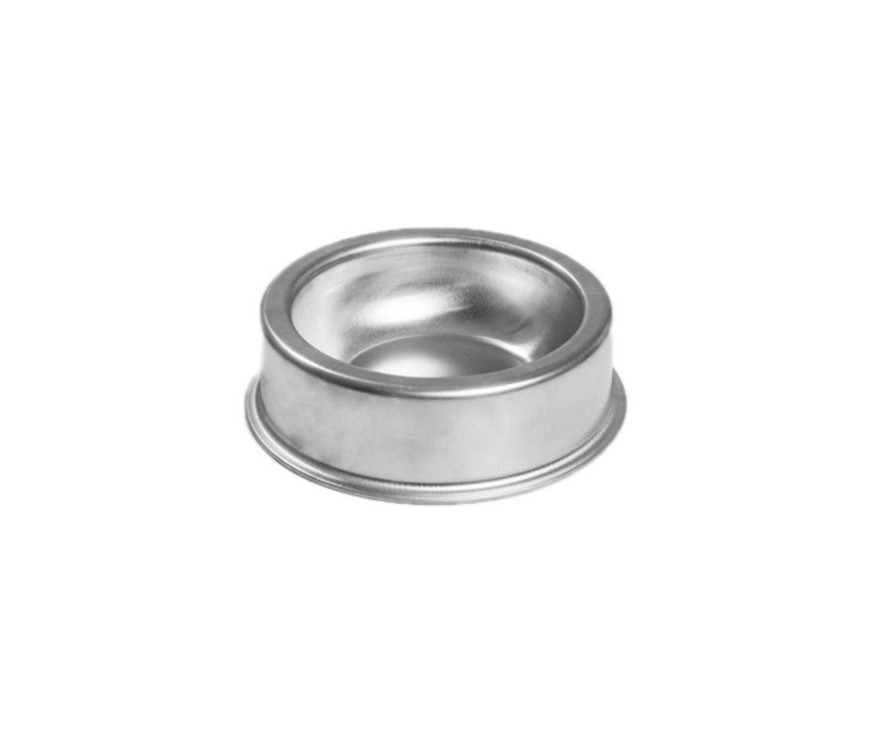 Comedouro Zatti Em Alumínio Para Cão -  Pesado M 1.300 Ml