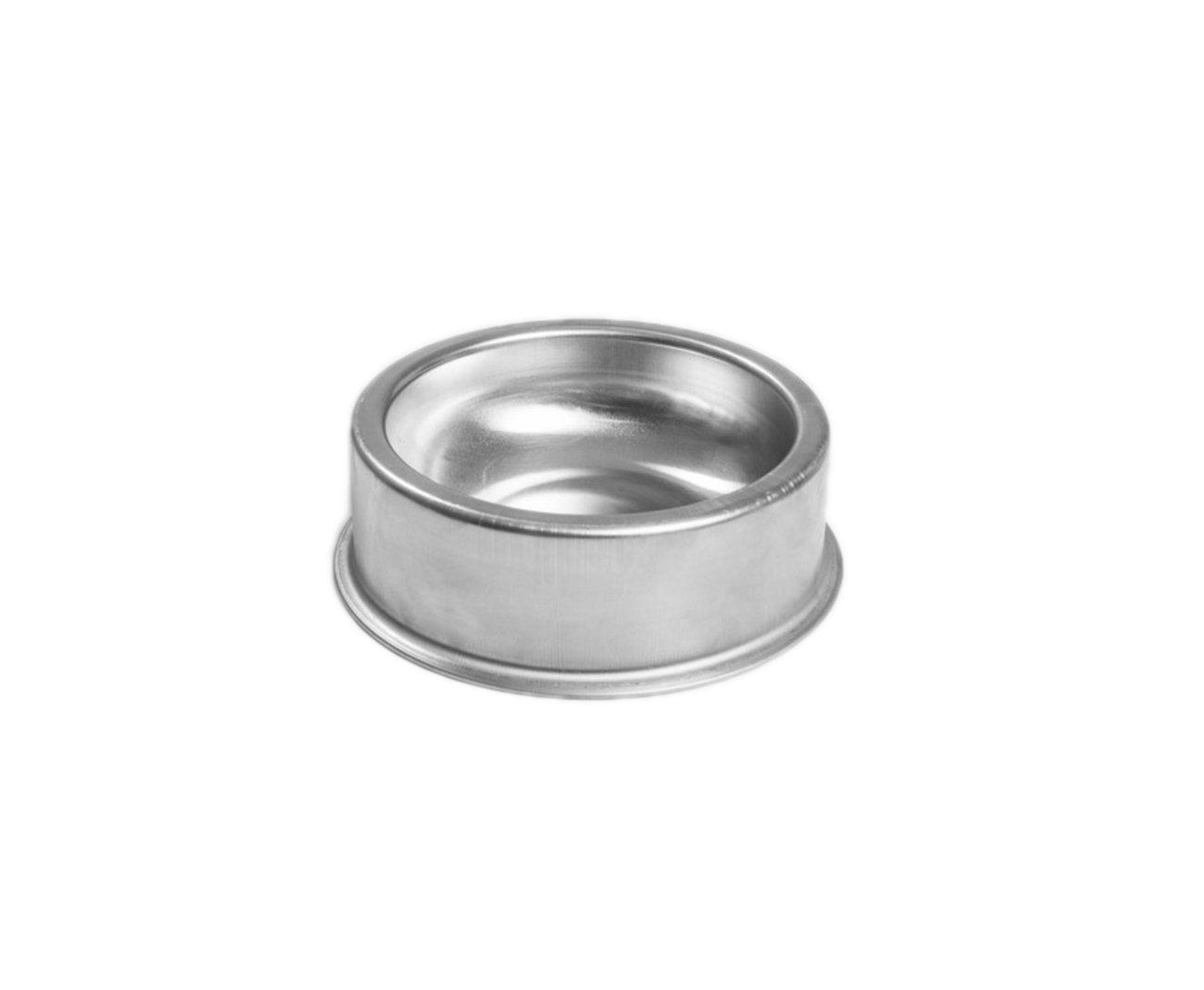 Comedouro Zatti Em Alumínio Para Cão - Pesado G 2.000 Ml