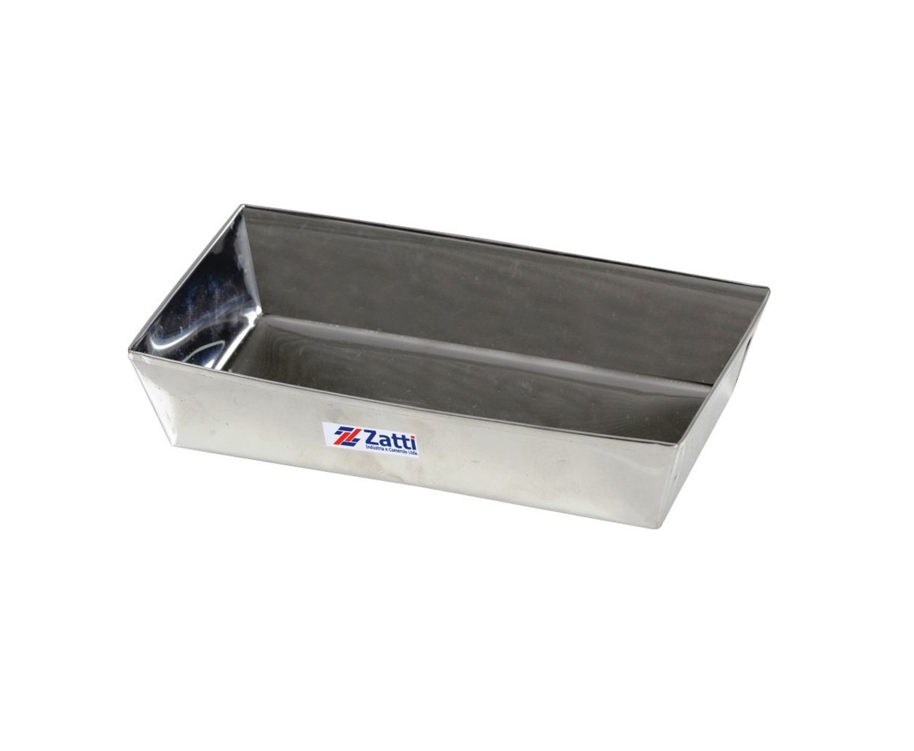 Forma Zatti  Para Pão Em Inox 430 - 145 X 123 X 26 Mm -