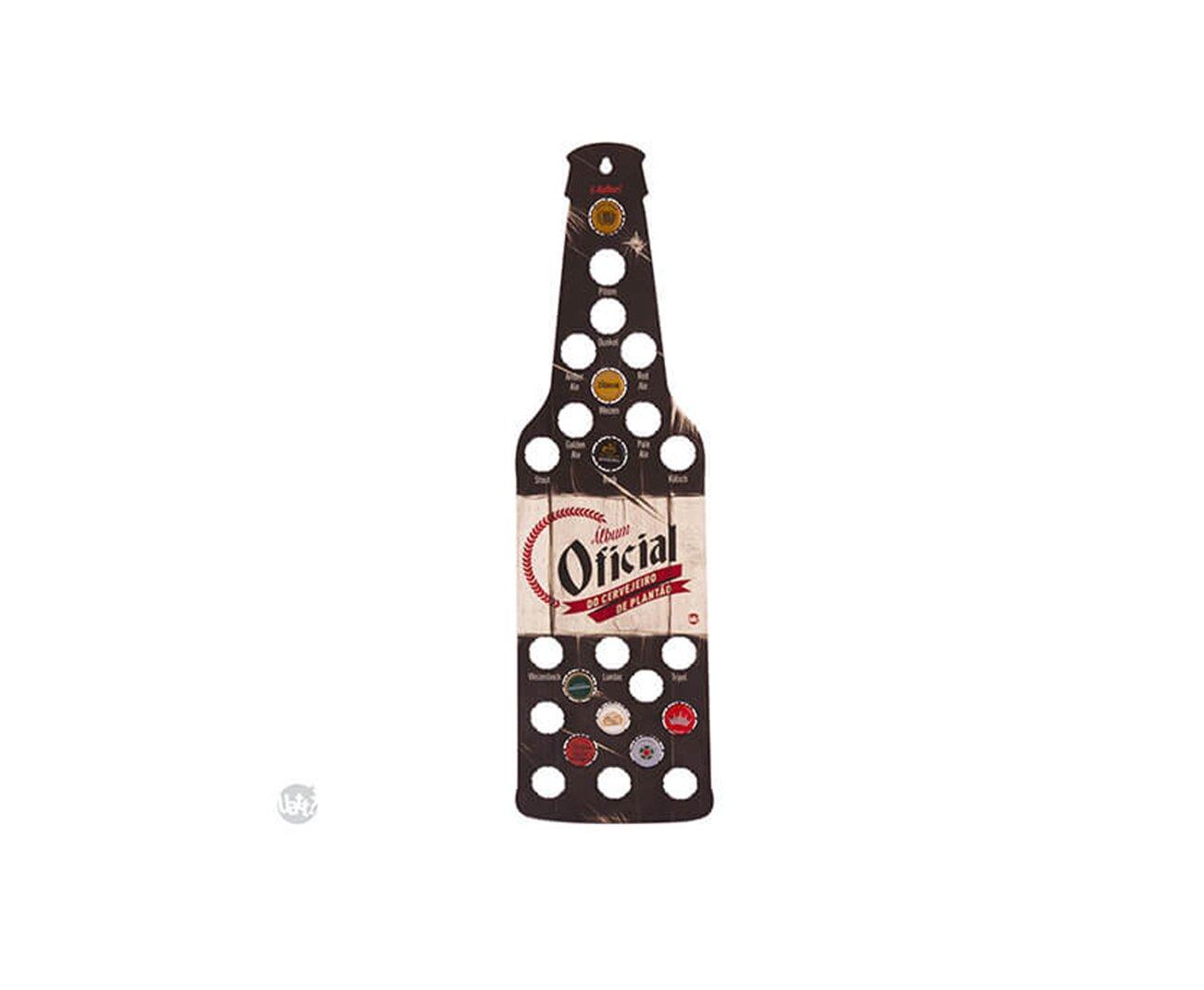 Porta Tampinha Album - Cervejeiro De Plantão - Uatt