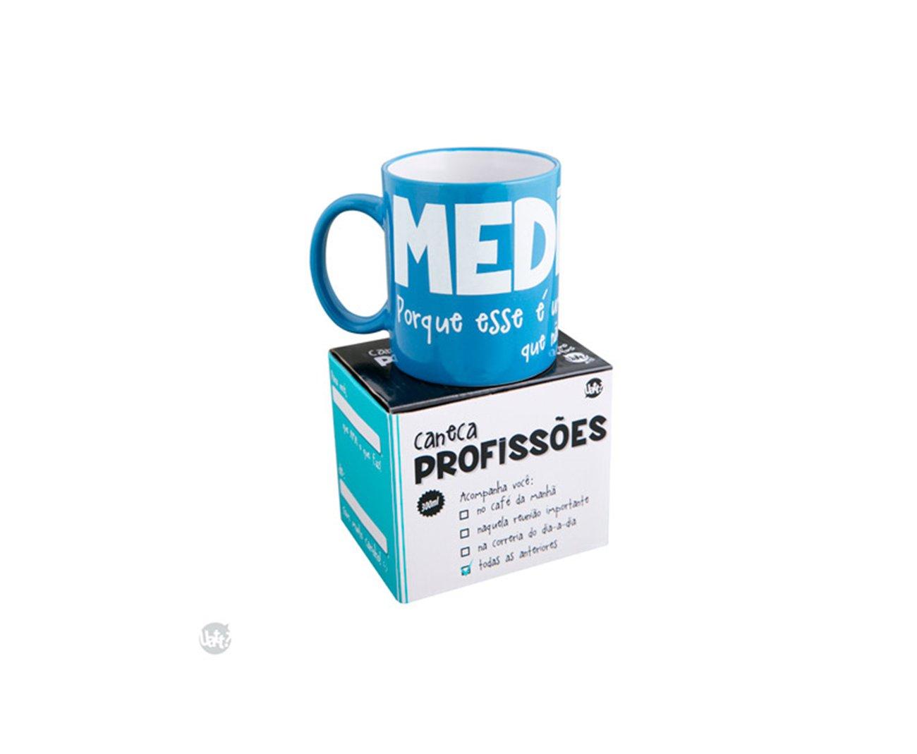 Caneca Profissões - Medicina - Uatt