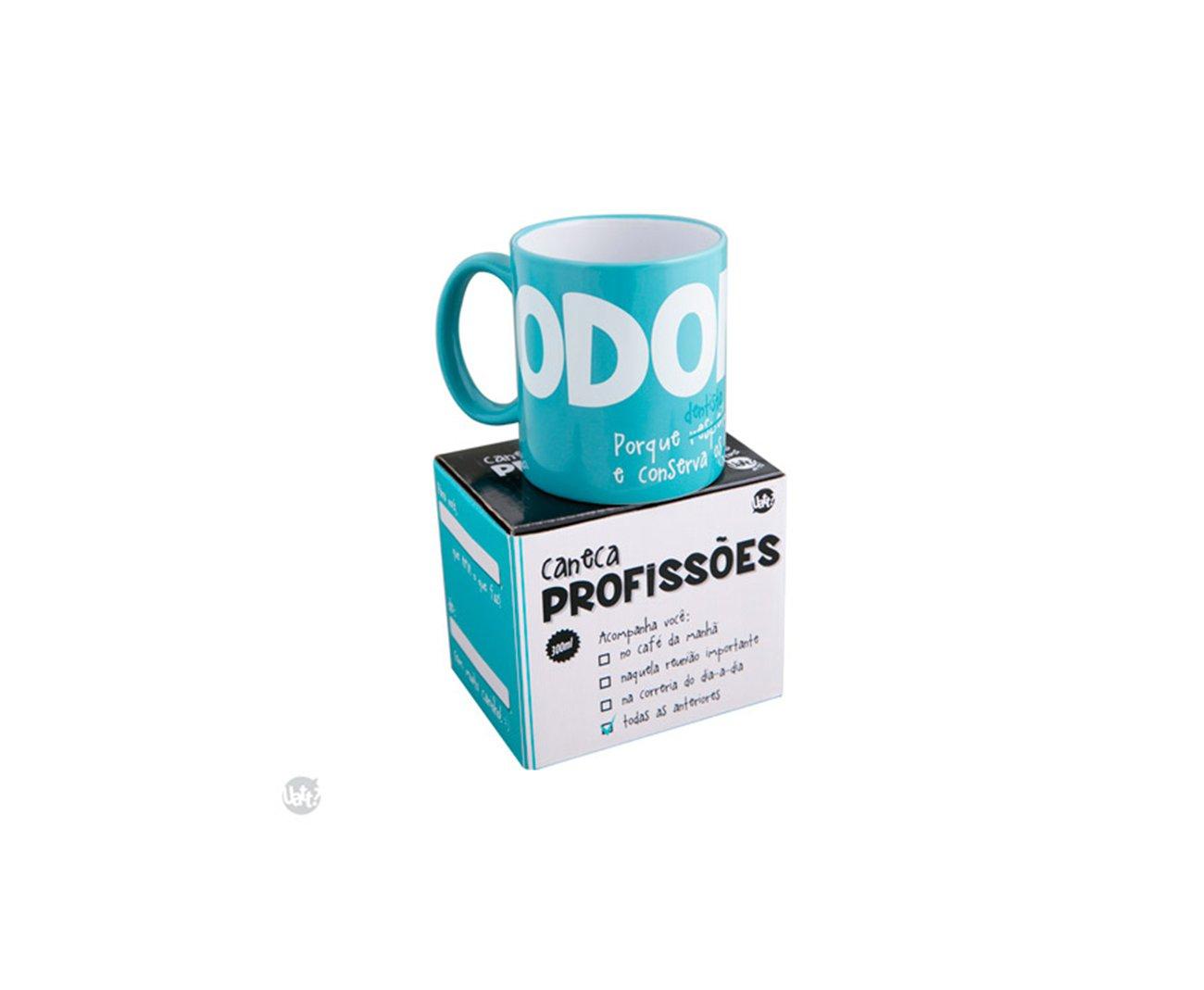 Caneca Profissões - Odonto - Uatt