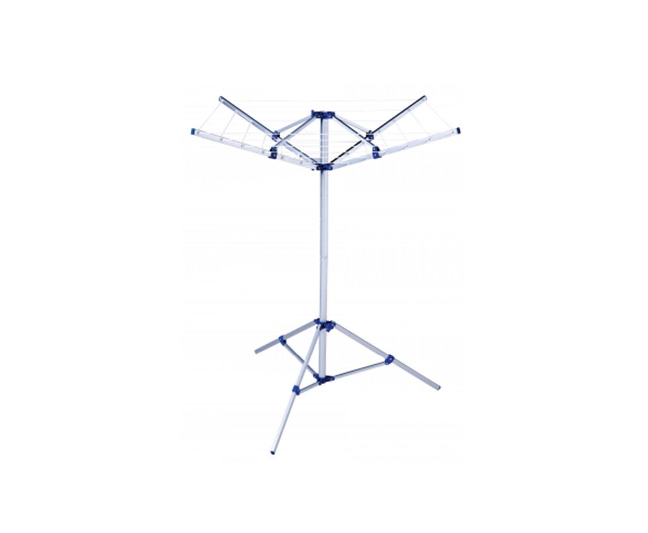 Varal Parabolico Aluminio Com Base - Mor