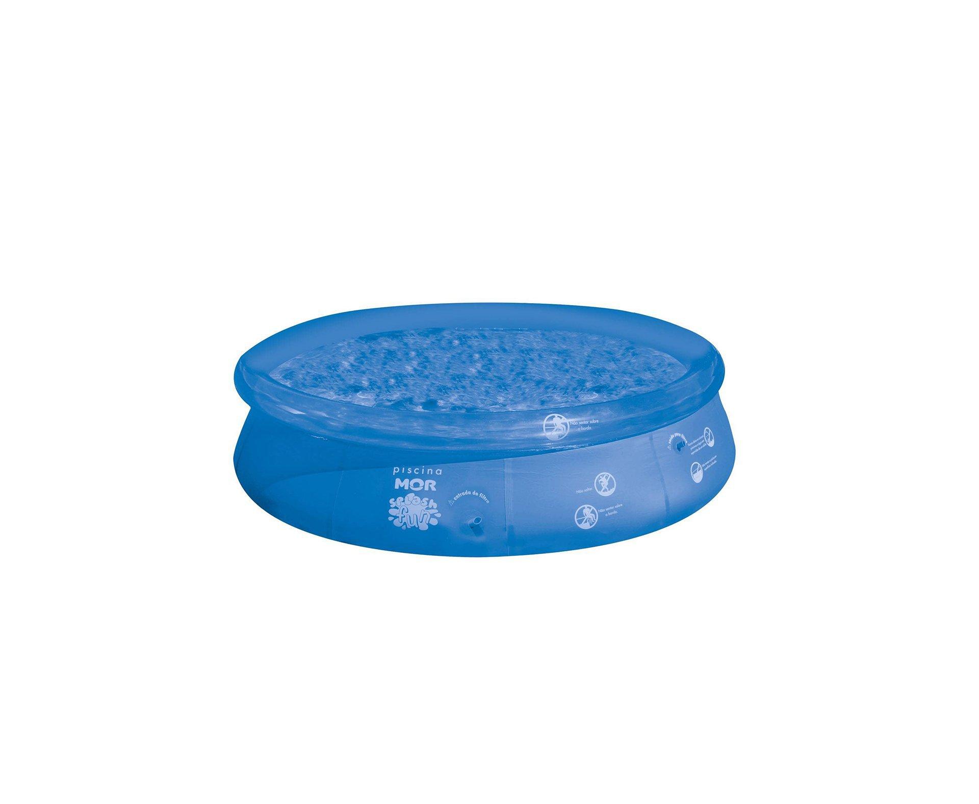 Piscina Inflavel Redonda Splash Fun 4600l - Mor