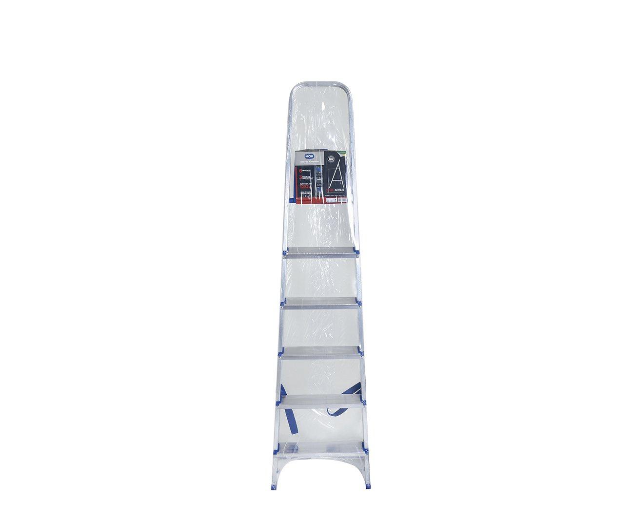Escada Aluminio 6 Degraus - Mor