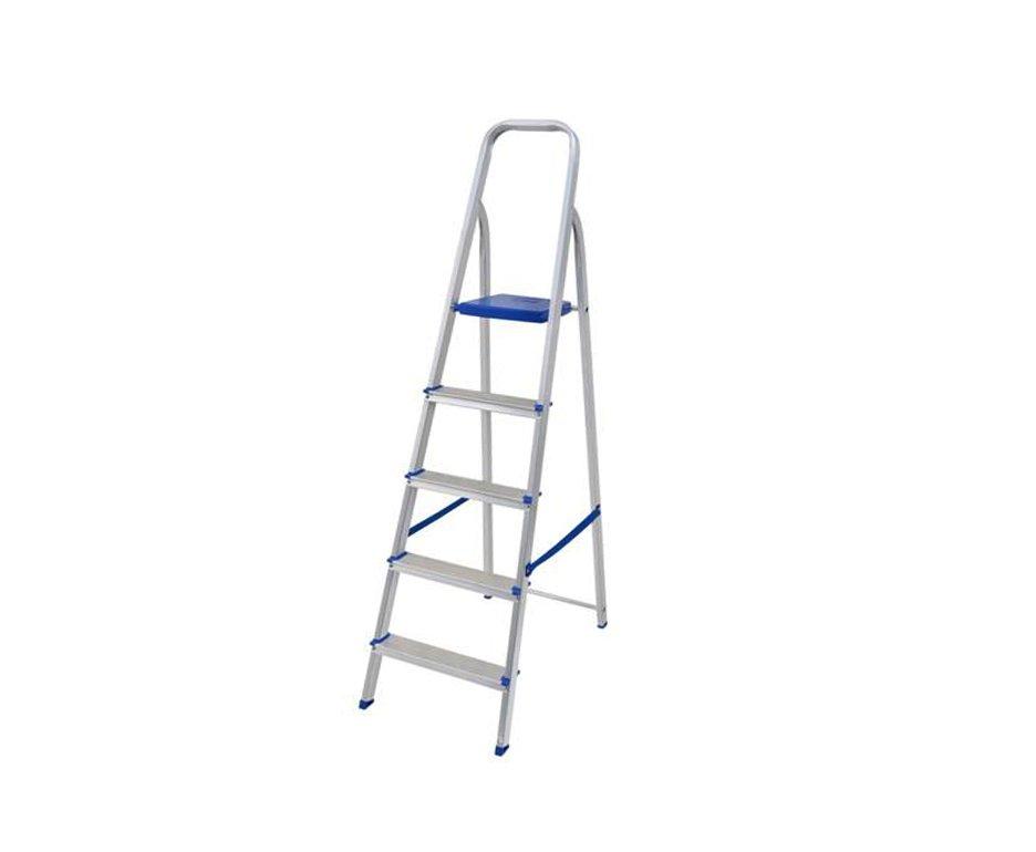 Escada Aluminio 5 Degraus - Mor
