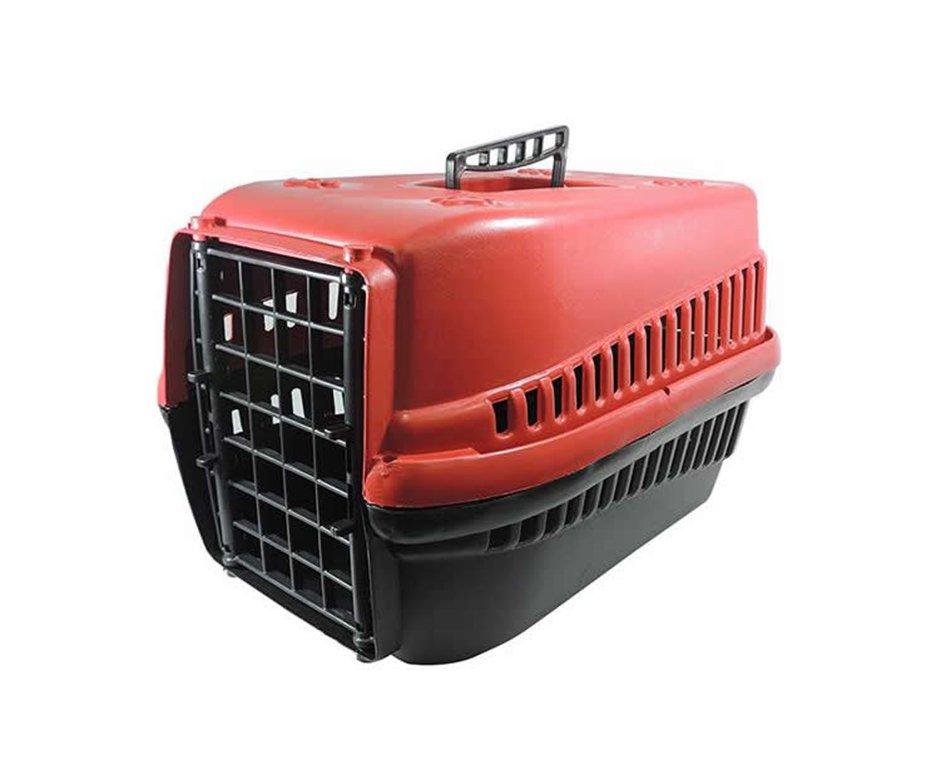 Caixa De Transporte Furacãopet N1 Vermelha - Furacão