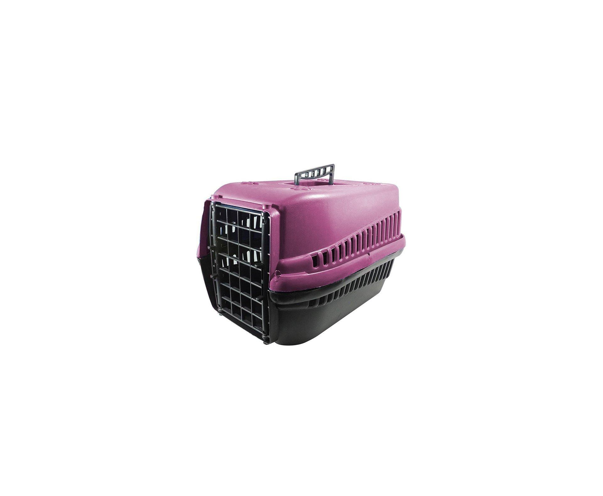 Caixa De Transporte Furacãopet N3 - Rosa - Furacão