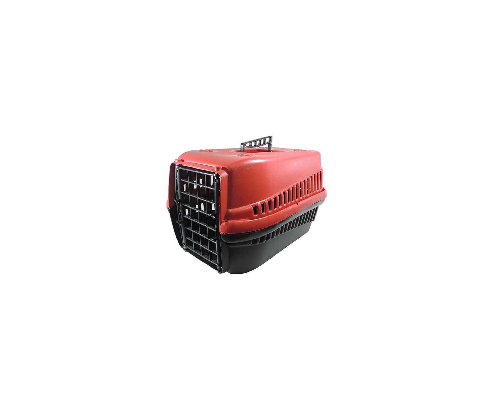 Caixa De Transporte Furacãopet N3 - Vermelha - Furacão