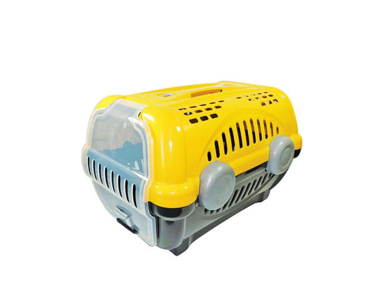 Caixa De Transporte Luxo N1 - Amarela - Furacãopet