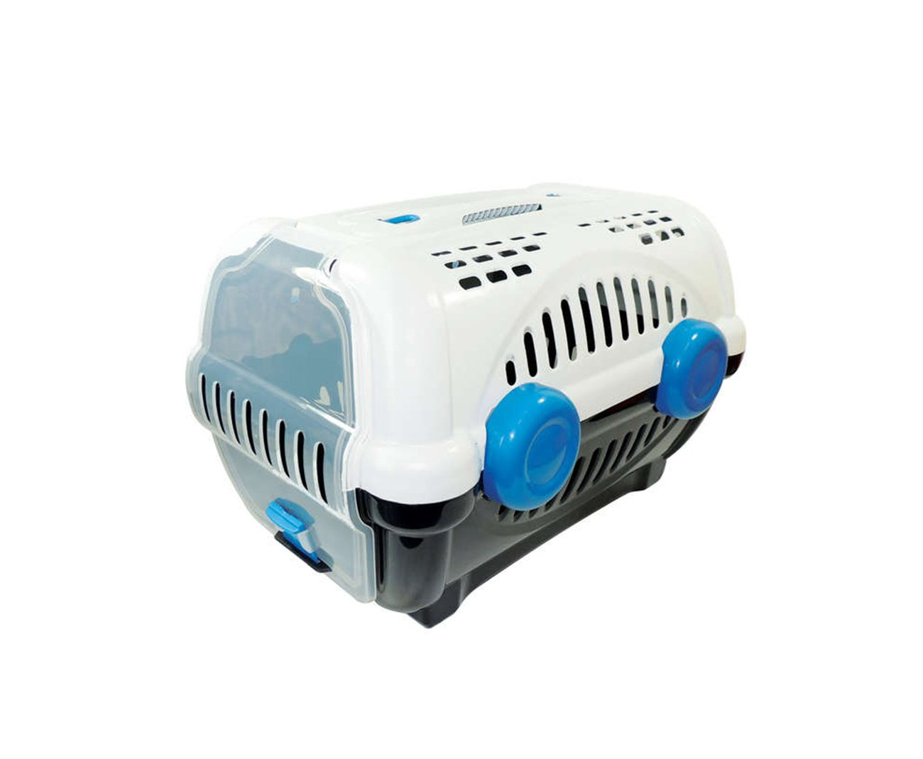 Caixa De Transporte Luxo N1 - Branca/azul - Furacãopet