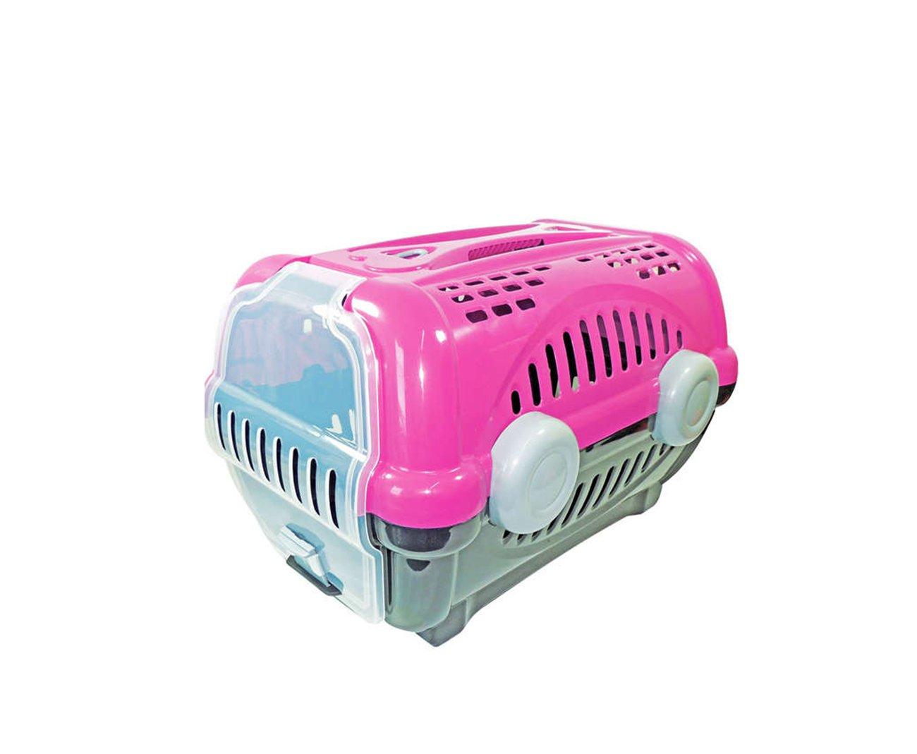 Caixa De Transporte Luxo N1 - Rosa - Furacãopet