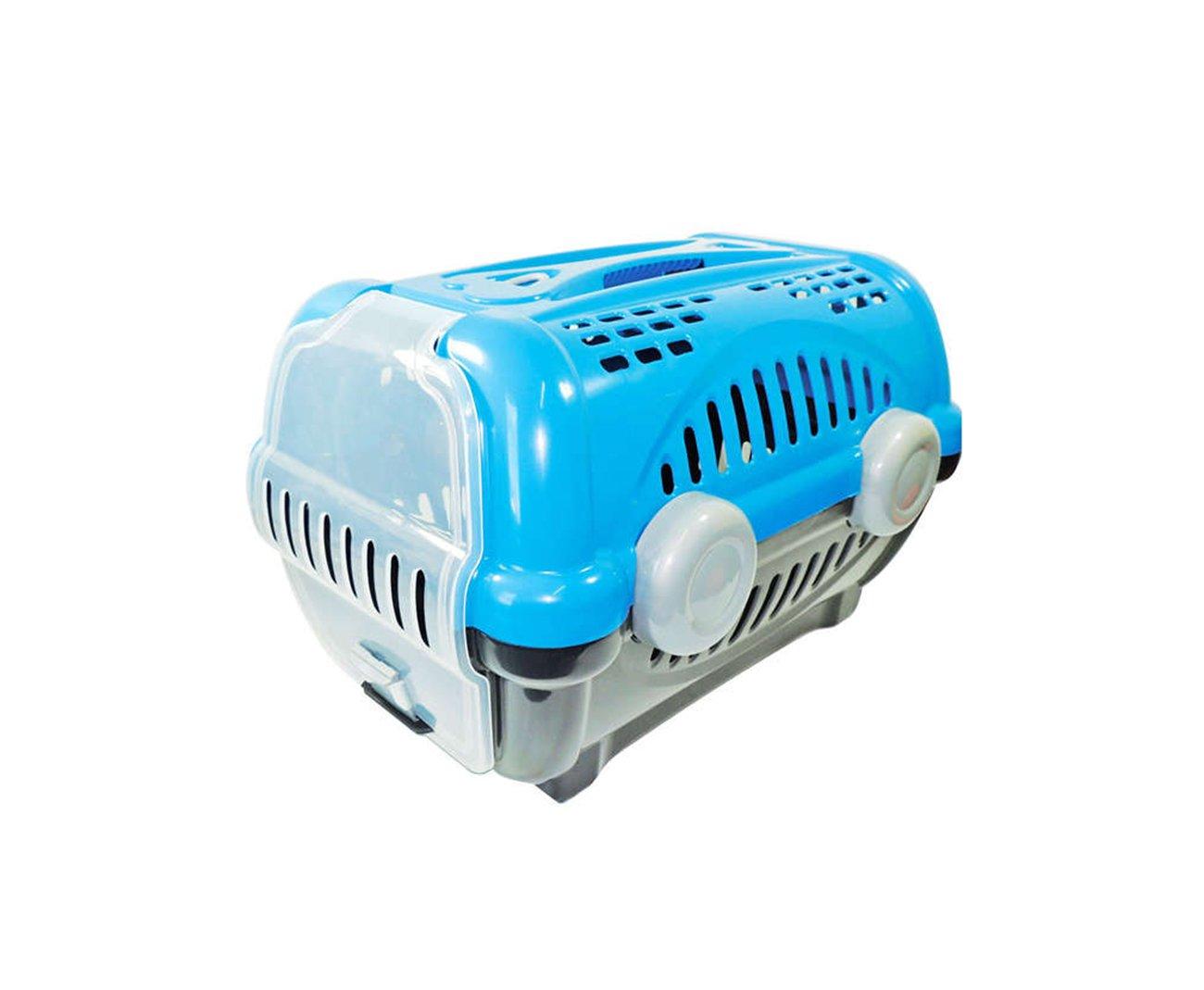 Caixa De Transporte Luxo N1 - Azul - Furacãopet
