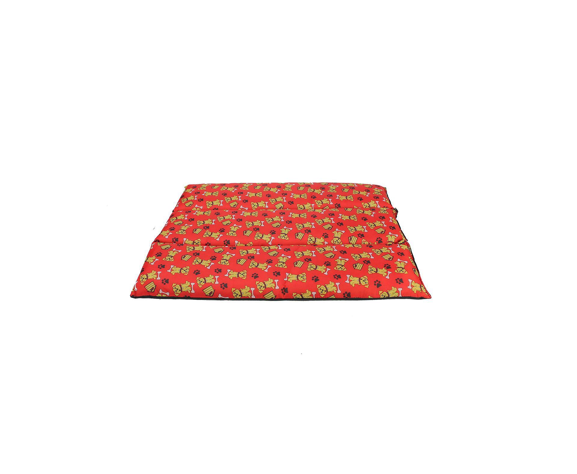 Almofada De Nylon N4  Gg 100x80cm  Vermelho - Furacãopet