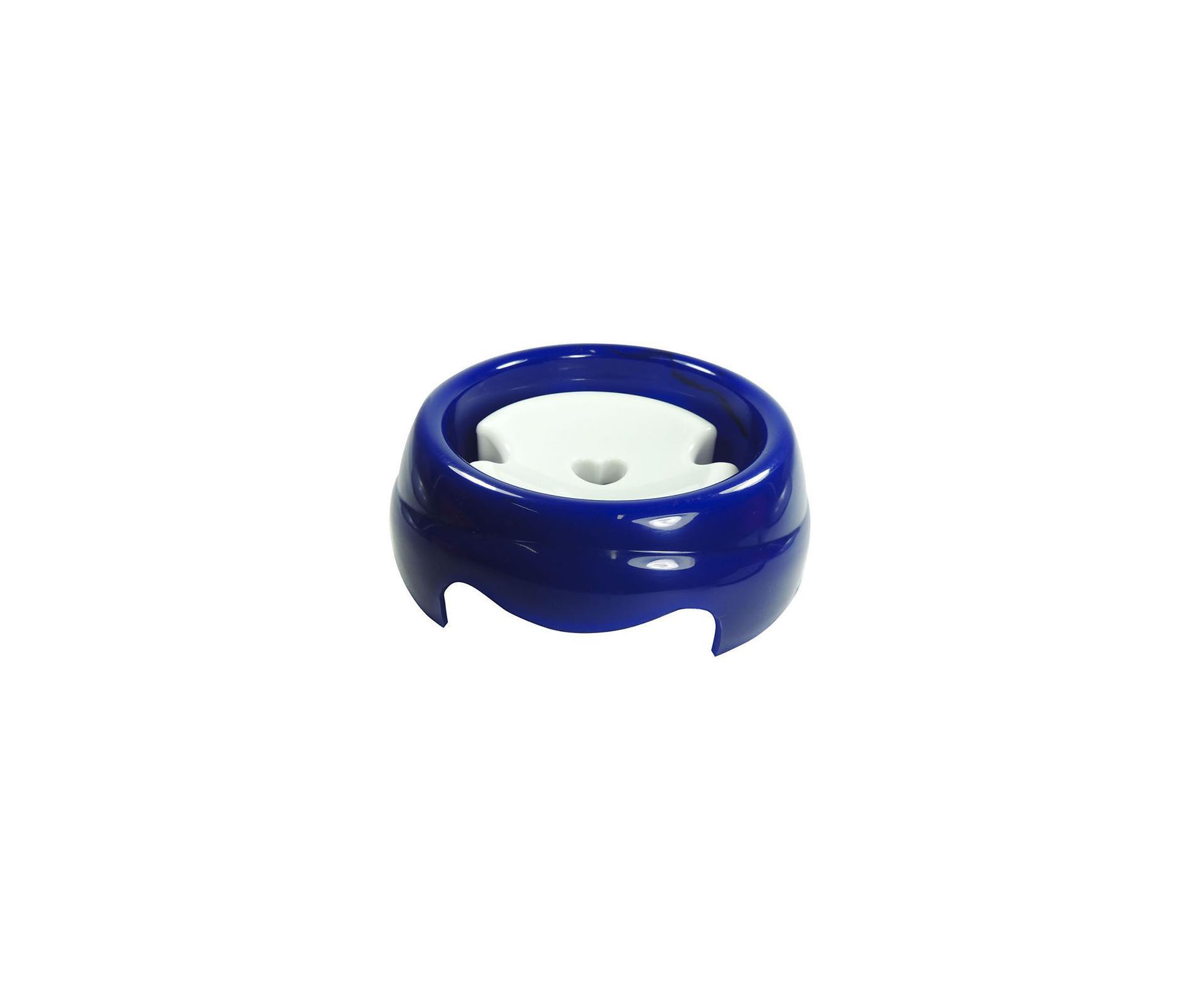 Bebedouro Plast Especial P/caes 1000ml Azul - Pelo Longo - Furacão