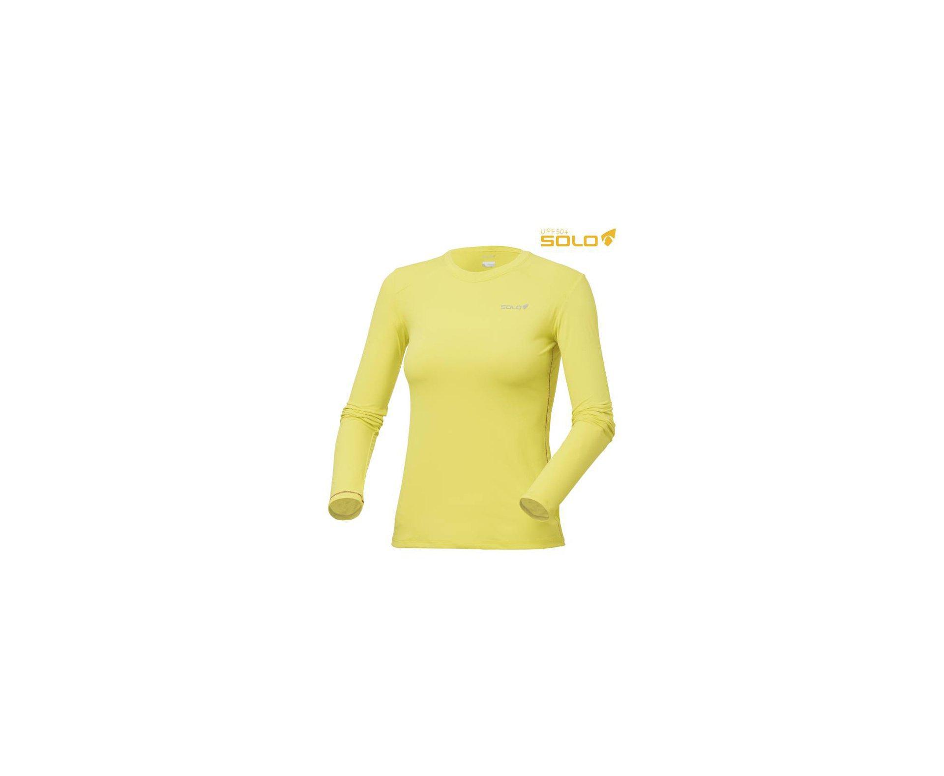 Camiseta Ion Uv Ml Lady Am Siciliano - Proteção Uva/uvb 50+ Fps -  Solo