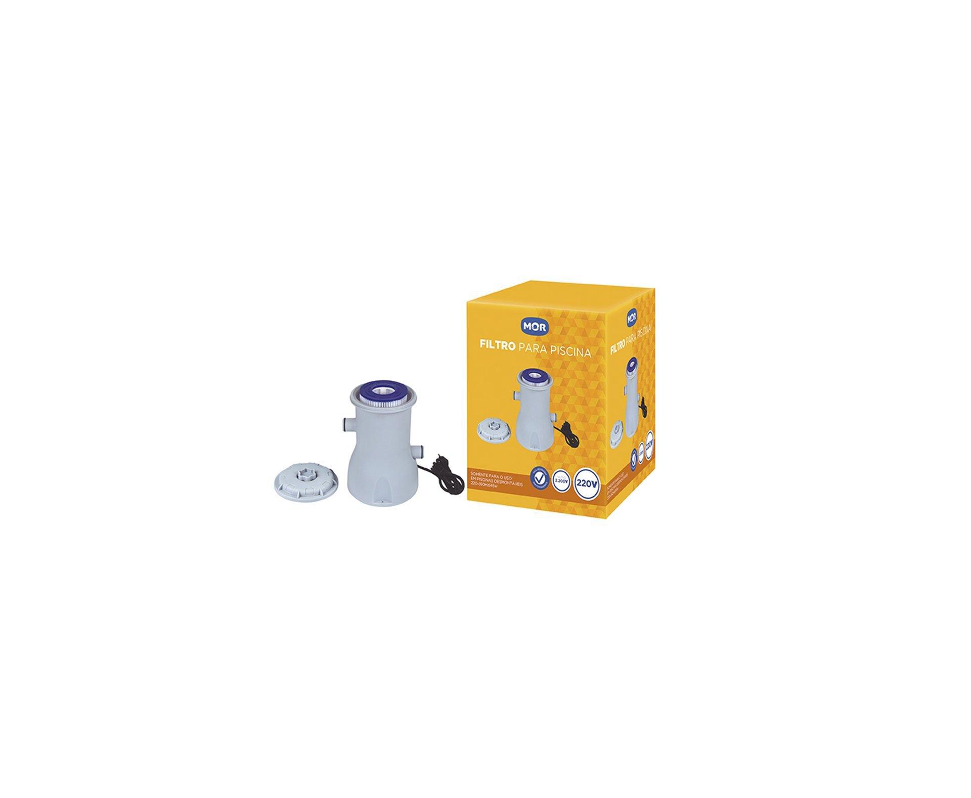 Filtro Para Piscina - Capacidade 2200l/h - 110v - Mor
