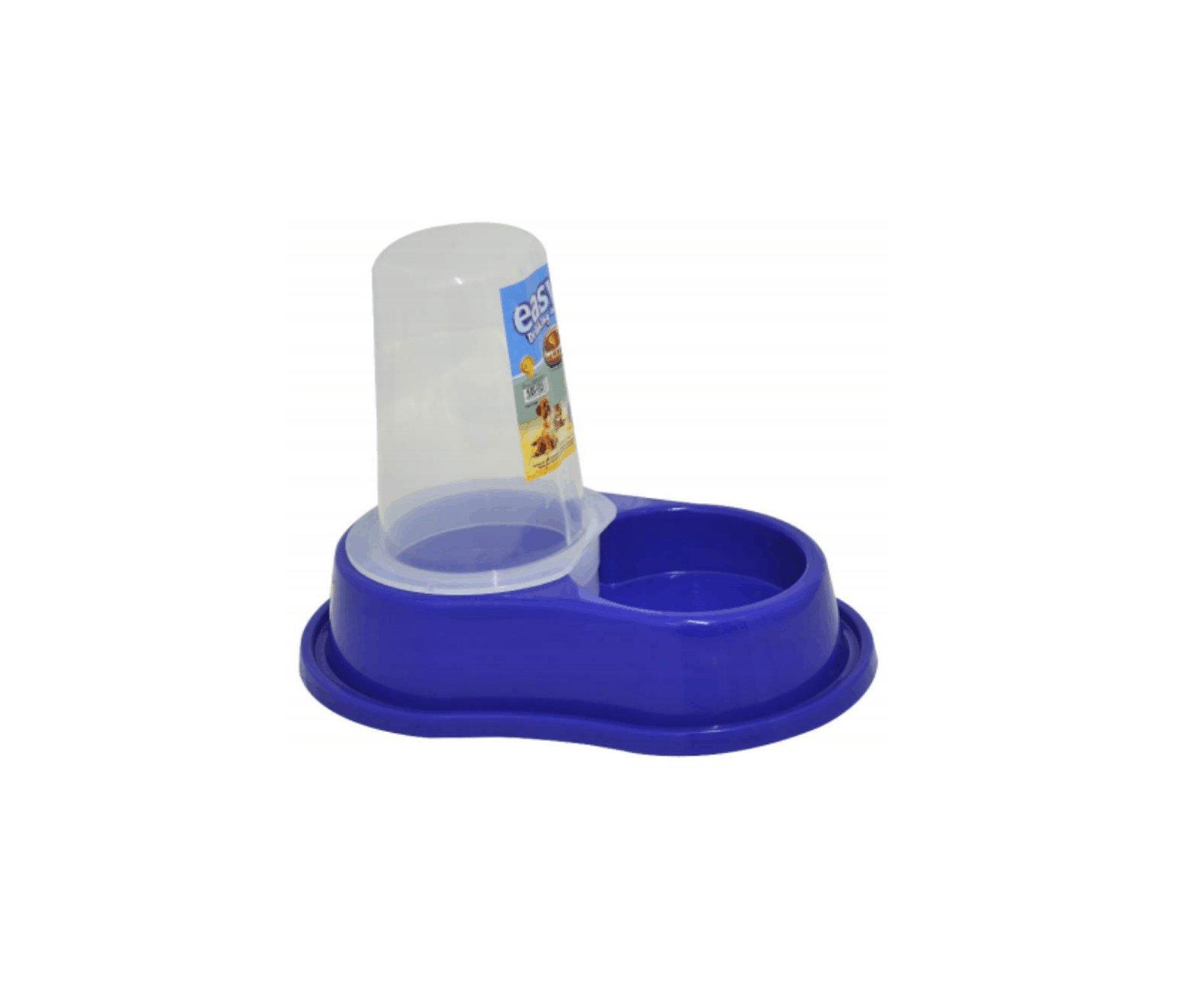 Comedouro/bebedouro Anti-formiga Automático C/ Dosador Azul - P - Furacão