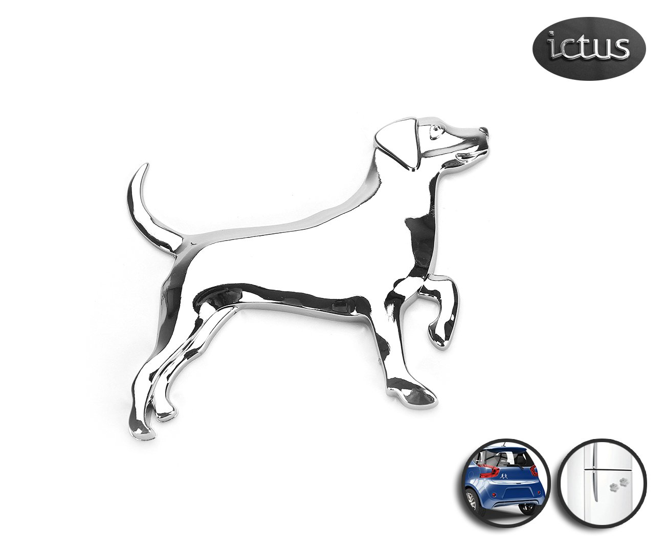 Emblema Beagle - Ictus