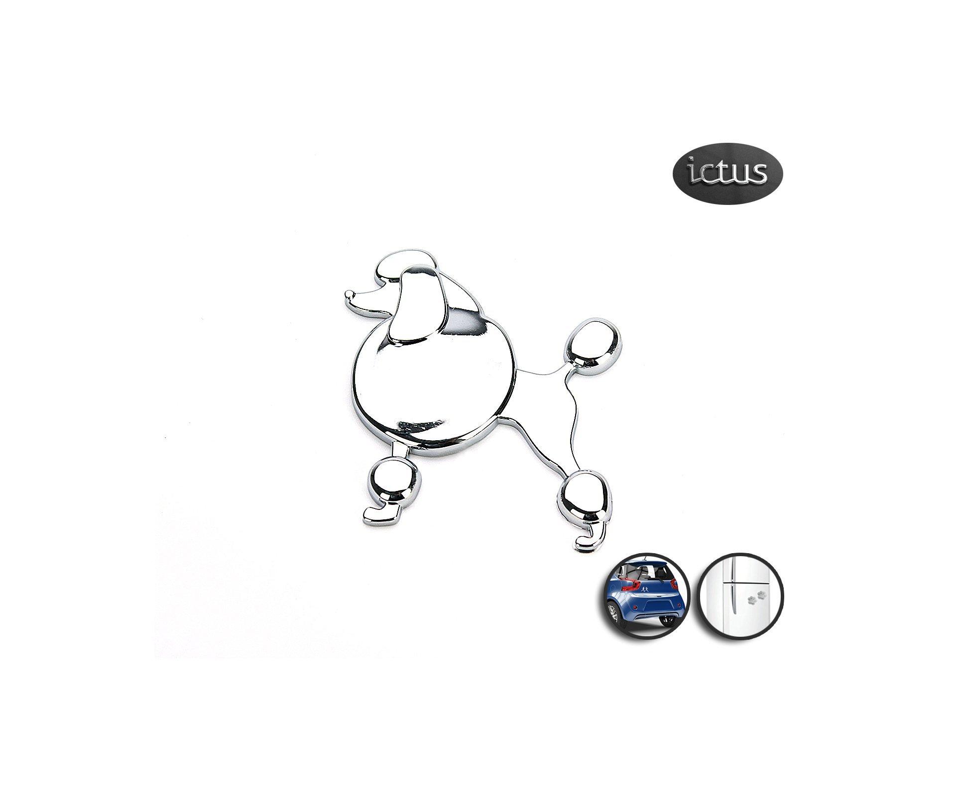 Emblema Poodle - Ictus