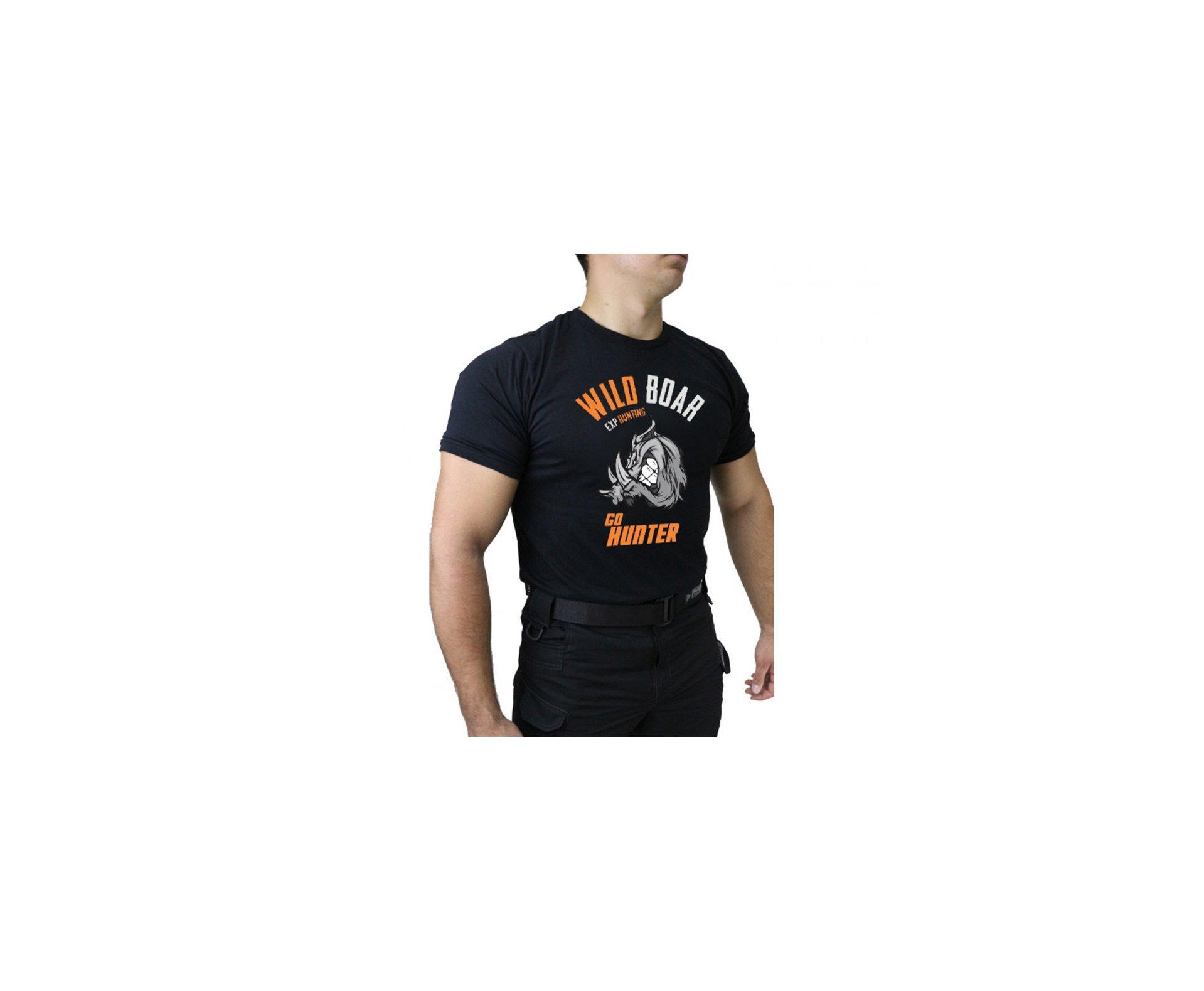 Camiseta Temática Hunting - 001 - Preto - Dacs