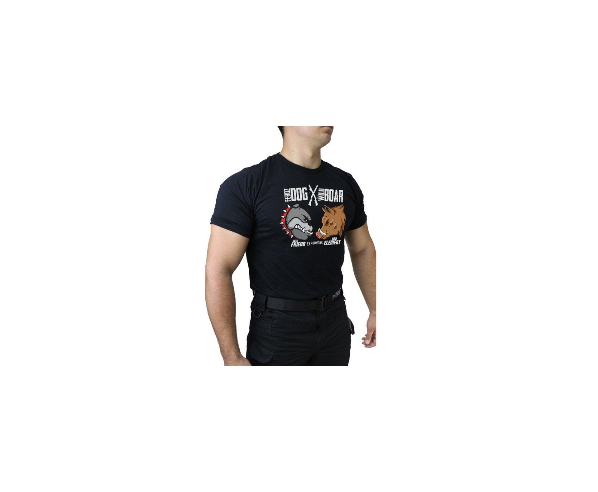 Camiseta Temática Hunting - 003 - Preto - Dacs