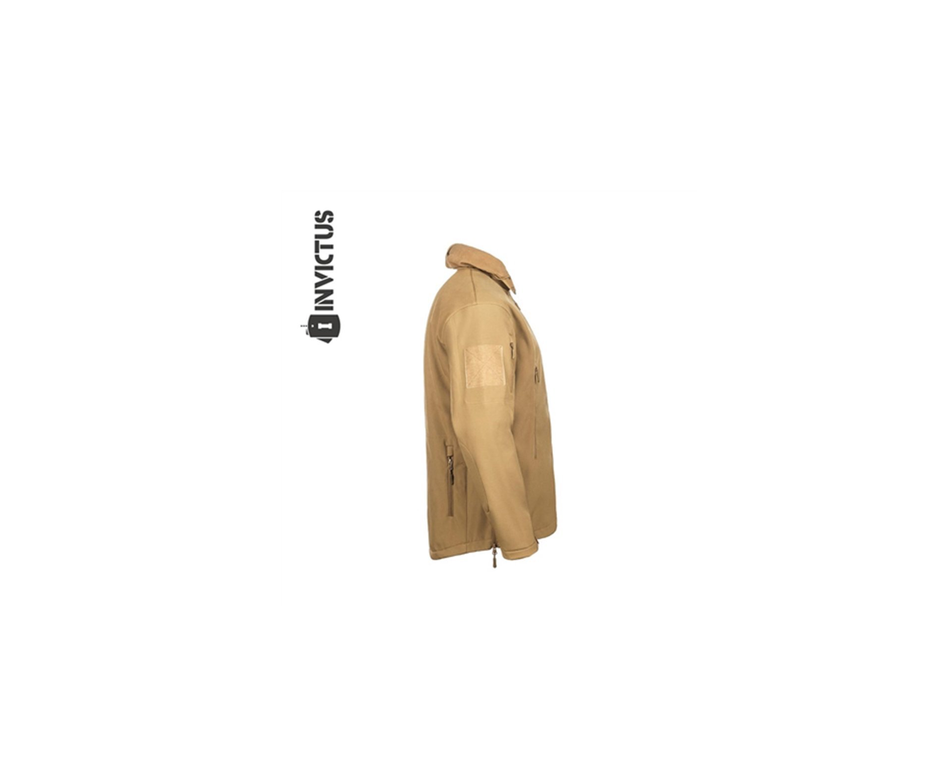 Jaqueta Tatica Invictus Siberian Impermeavel - Coyote - P