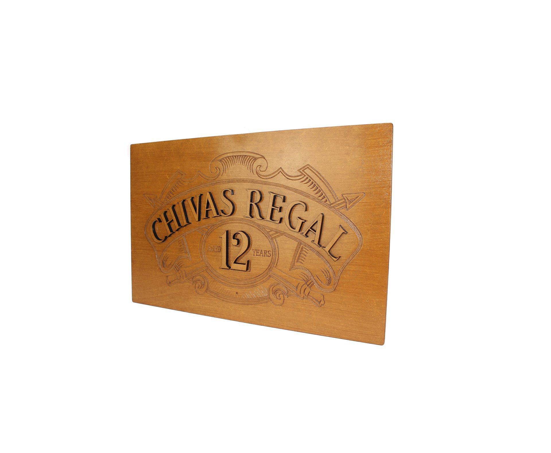 Quadro Decorativo Chivas 25 X 30cm - Geton