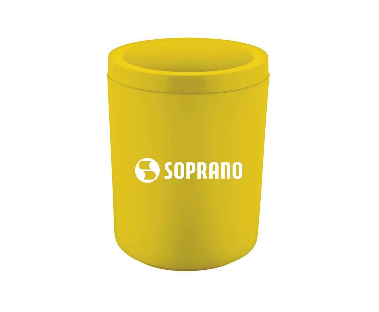 Porta Lata Soprano 350ml Amarelo