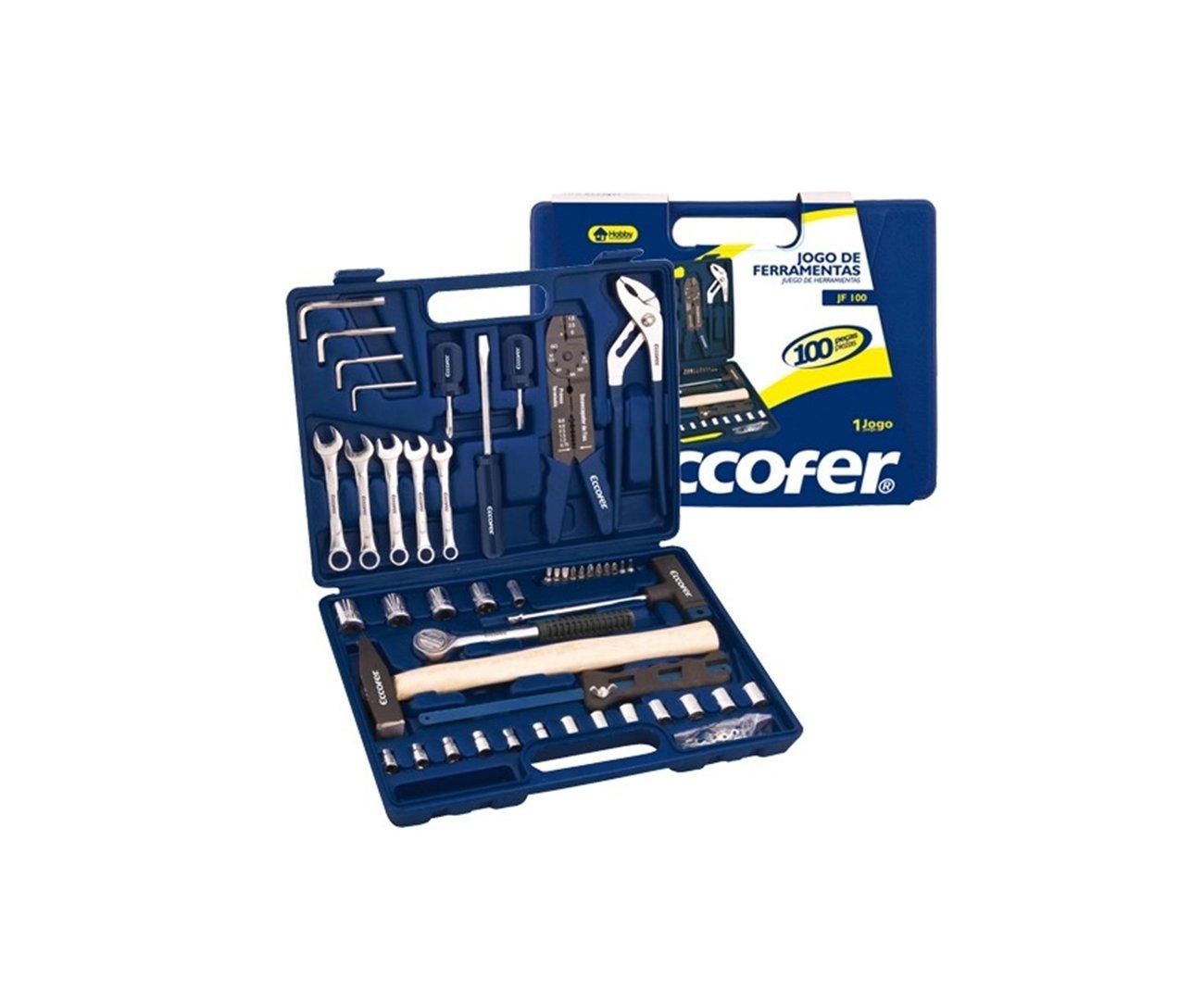 Kit Ferramentas Eccofer Kf100