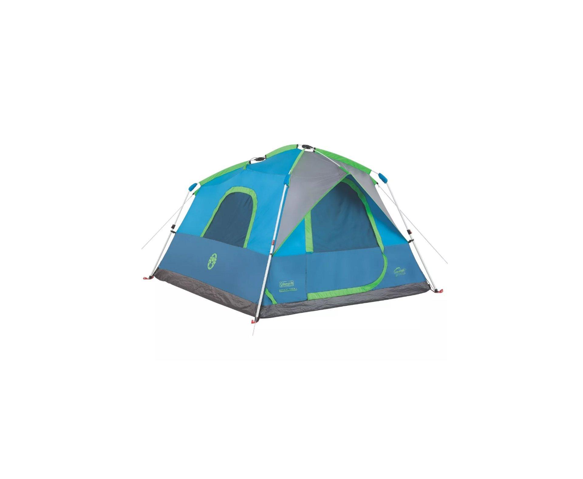 Barraca Signal Mountain Instant Tent Cabin 6 Pessoas 2000mm Coluna Dágua - Coleman