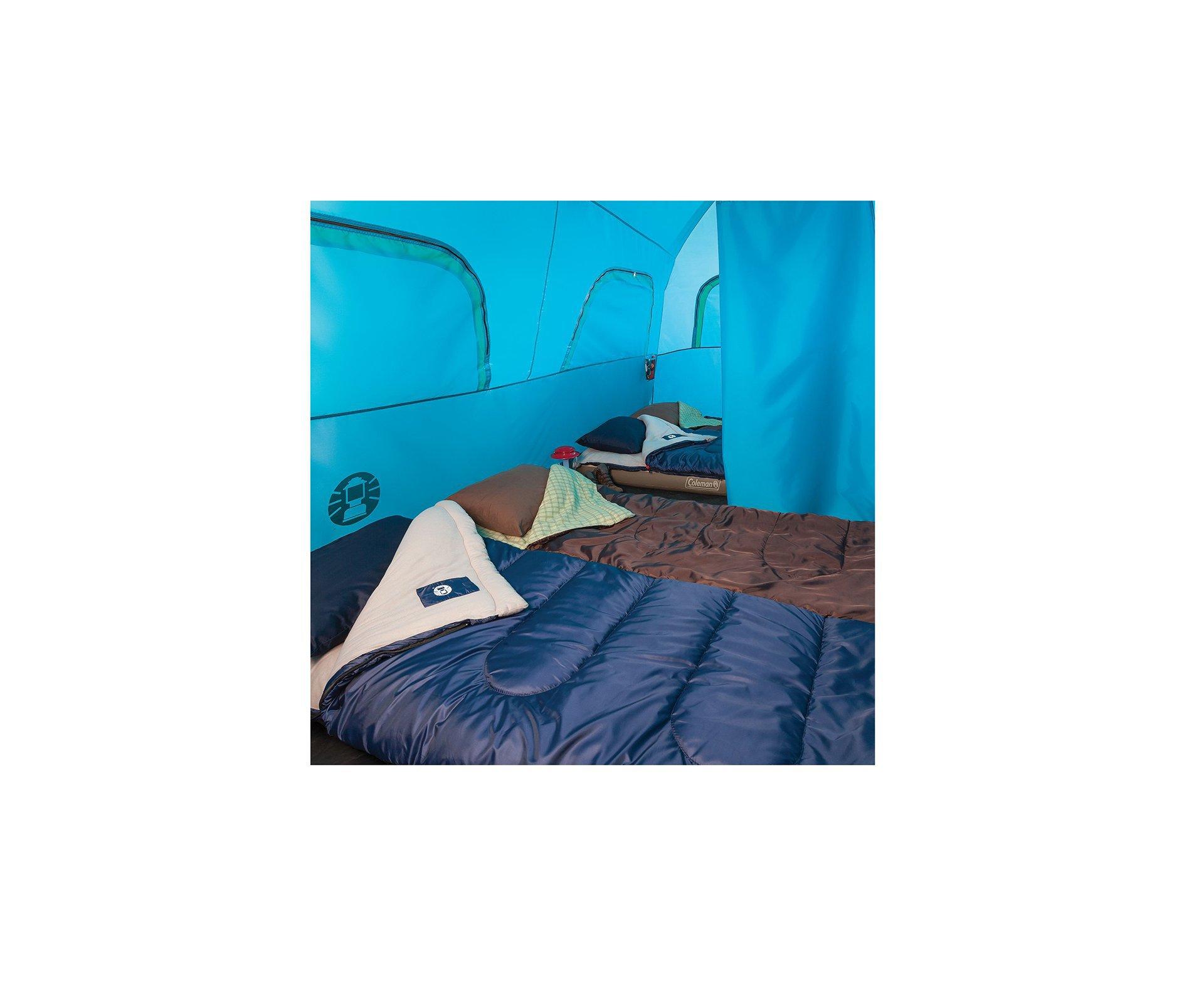 Barraca 8p Signal Mountain  Instant Tent 2000mm Coluna D água - Coleman