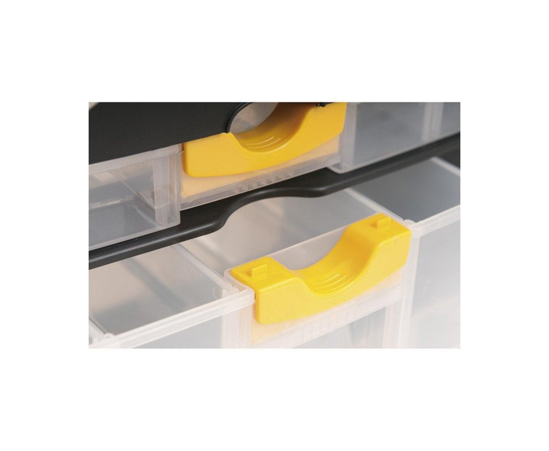 Organizador Vonder Plastico 3 Gavetas 40cm X 20cm X 28,5cm Opv0400