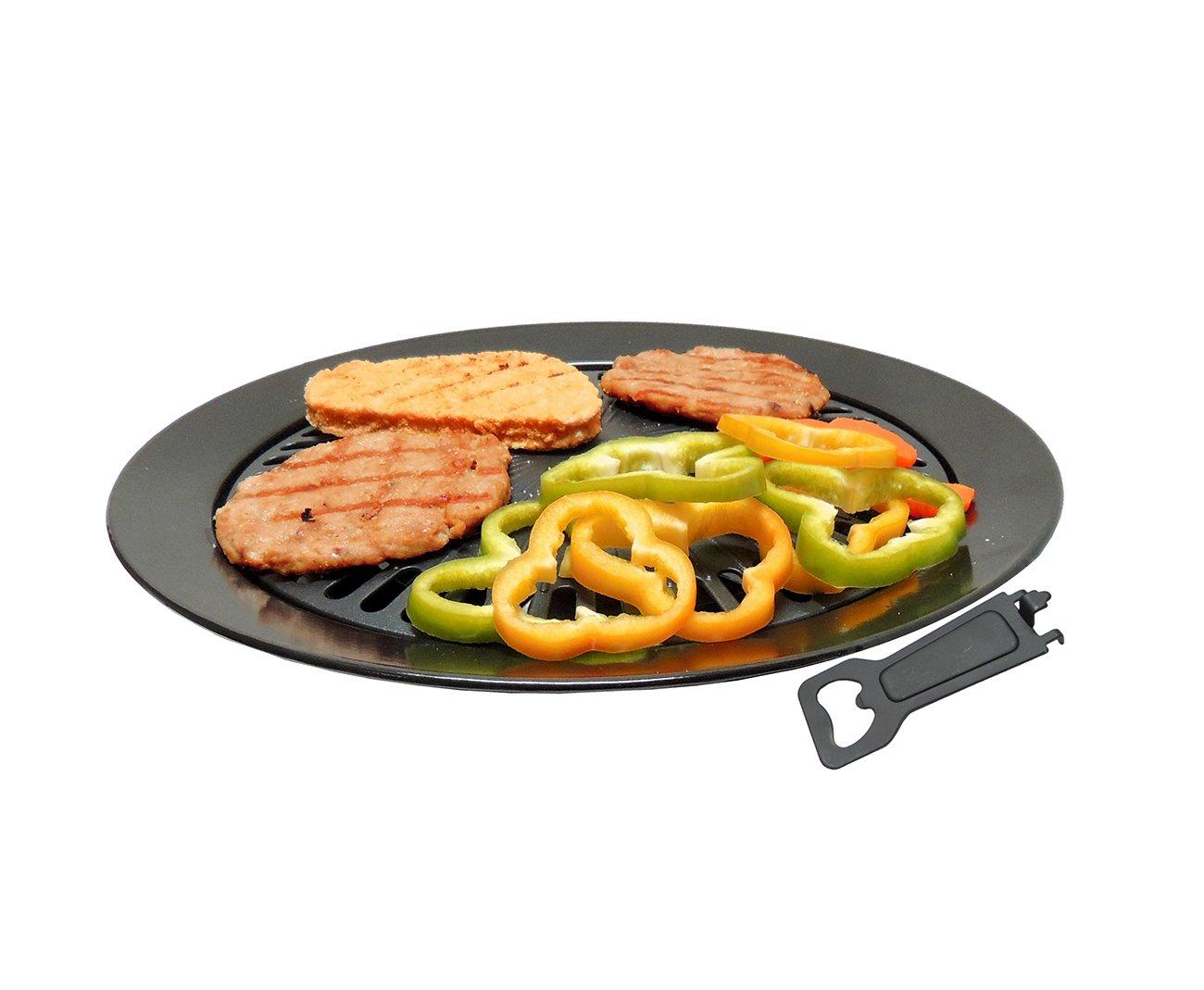 Grill Plate Para Fogareiro Portatil E Fogão Domestico - Guepardo