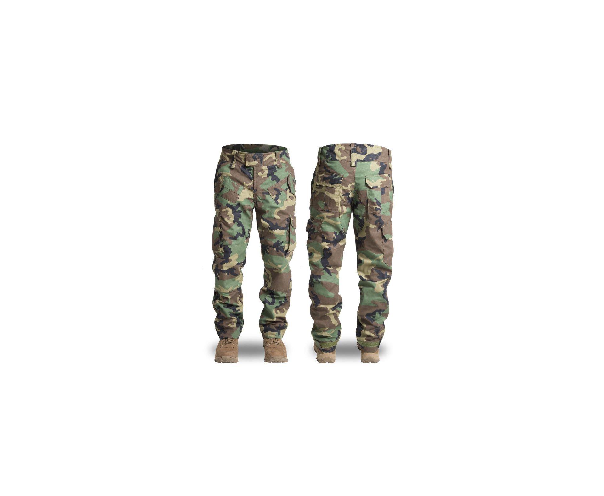 Calça Forhonor 911 Woodland - Tatica, Militar, Airsoft, Ripstop