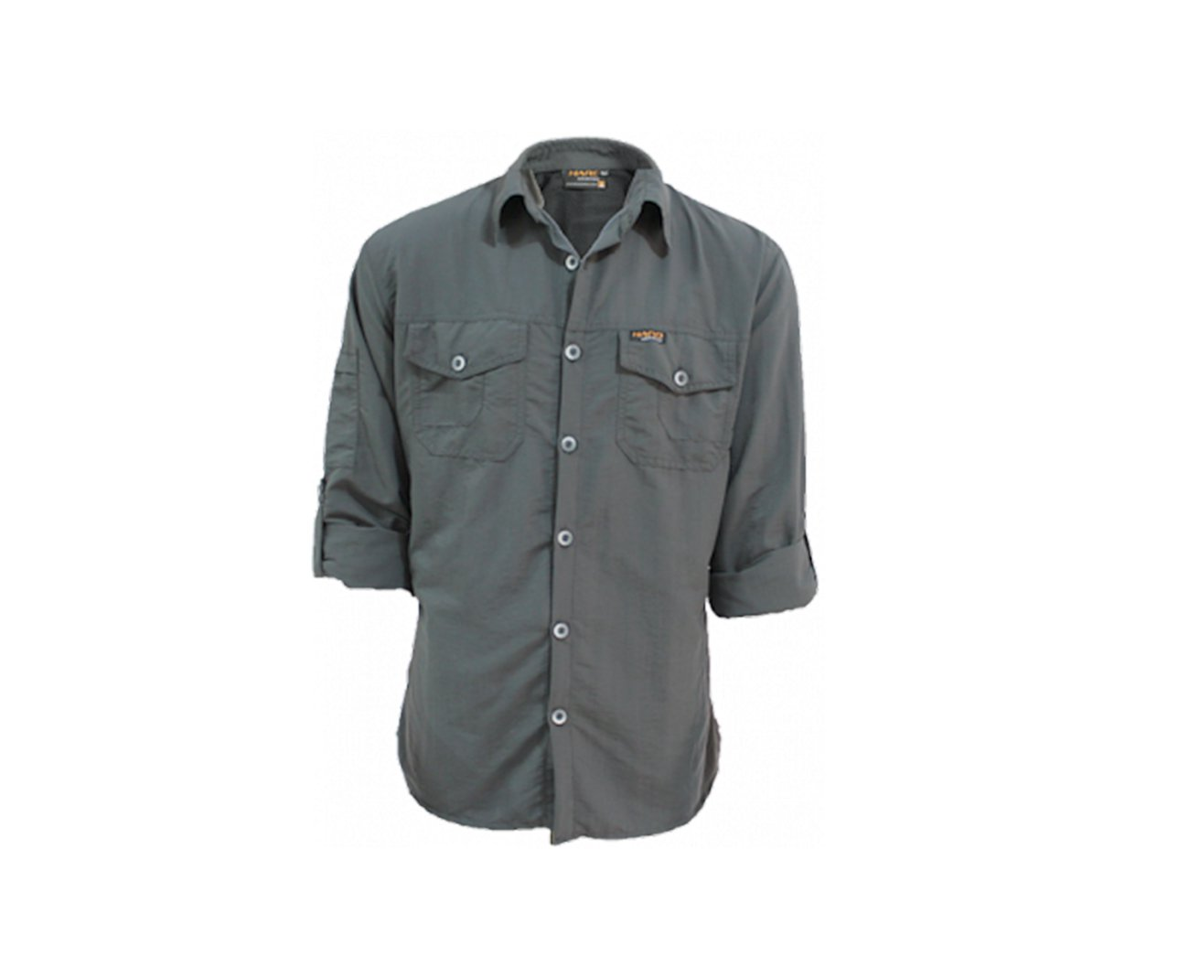 Camisa Safari Tomahalk Cinza Escuro - P - Hard Adventure